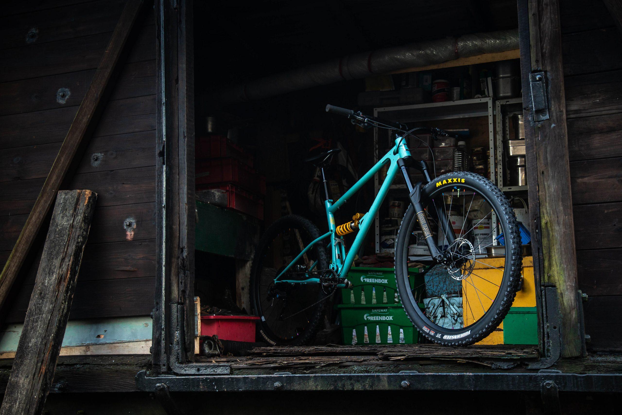 Duck Egg Blue Starling Cycles Murmur Short Travel