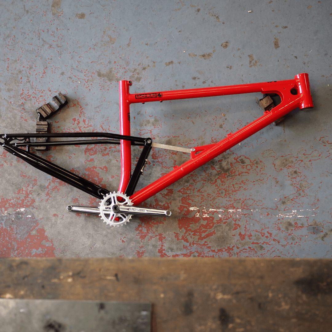 Starling Cycles Pillar Box Red