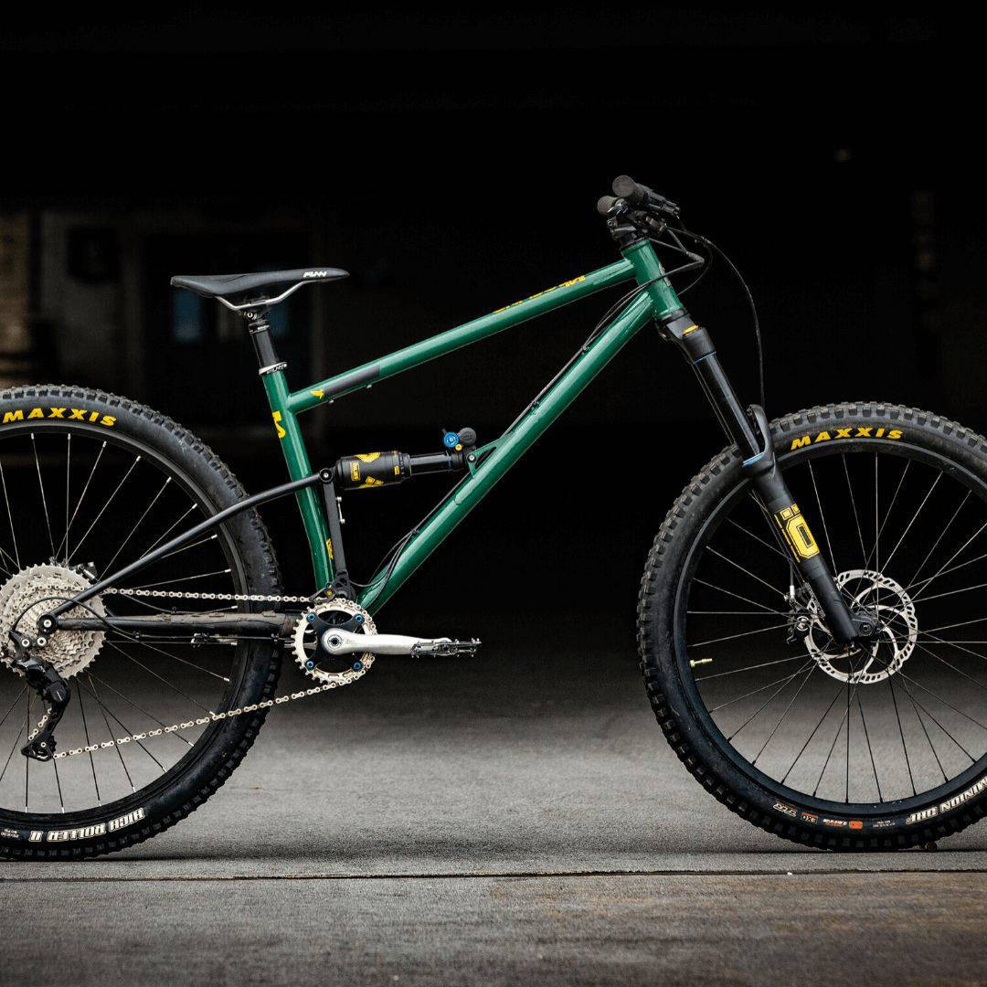 Starling Cycles British Racing Green