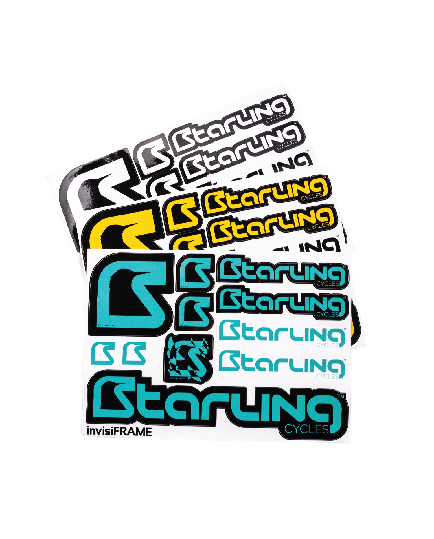 Starling Stickers options